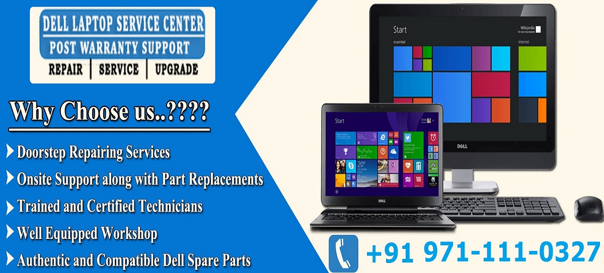 Dell laptop service center in Noida sector 18